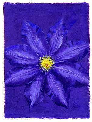 Clematis Poster by Brian James