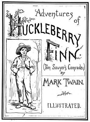 Clemens Huckleberry Finn Poster