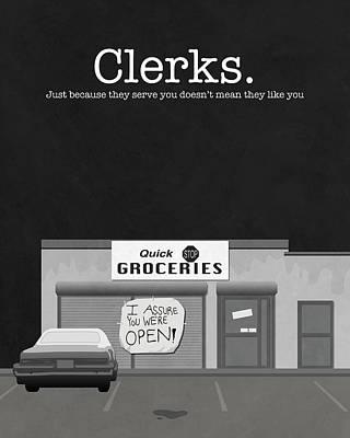Clerks Movie Poster Poster