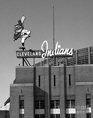 Clevealnd Indians Wahoo Poster