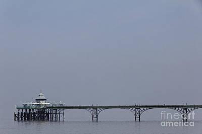 Clevedon Pier In Somerset England Poster by Robert Preston