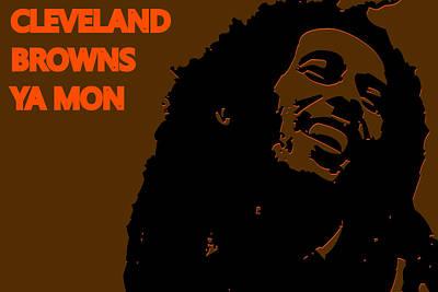 Cleveland Browns Ya Mon Poster by Joe Hamilton