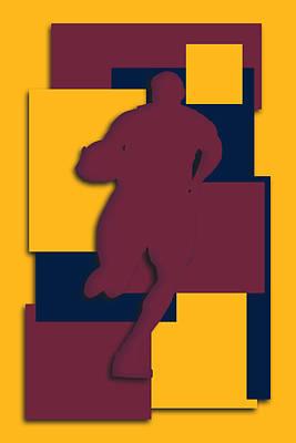 Cleveland Cavaliers Art Poster by Joe Hamilton