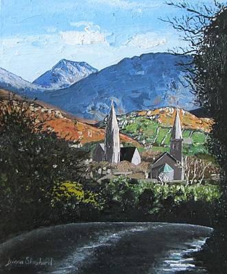 Clifden Town Connemara Co Galway Ireland Poster