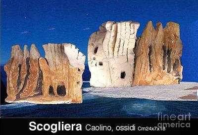 Cliff Poster by Ari Nunes