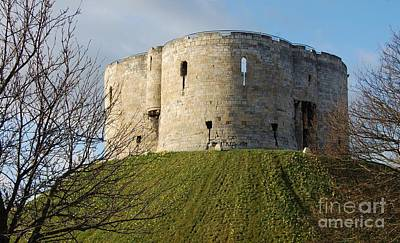 Clifford's Tower, York, England Poster by Courtney Dagan