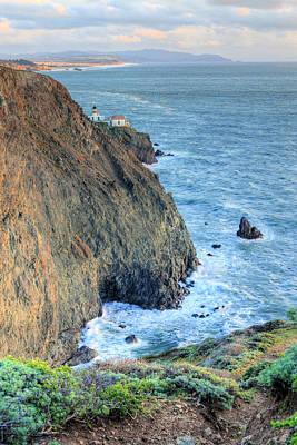 Cliffs Poster by JC Findley