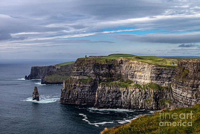 Poster featuring the photograph Cliffs Of Moher I by Juergen Klust