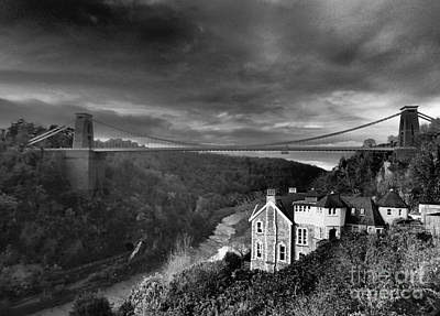 Clifton Suspension Bridge Poster by Michael Canning