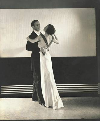 Clifton Webb Dancing With Irene Castle Poster