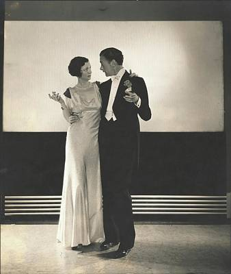 Clifton Webb With Irene Castle Poster
