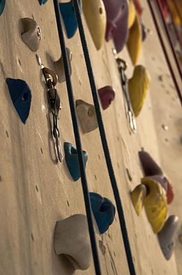 Climbing Wall Poster by Frank Gaertner