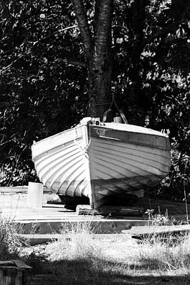 Clinker Built Boat Poster by Paul Price