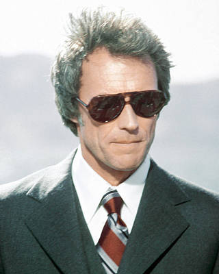 Clint Eastwood In The Enforcer Poster