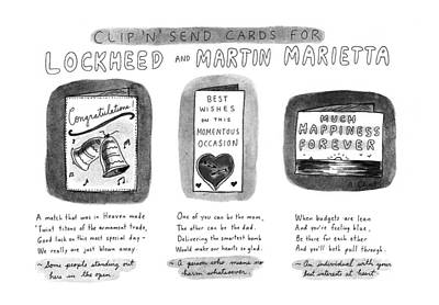 Clip 'n' Send Cards For Lockheed And Martin Poster