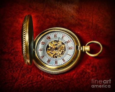 Clock - The Pocket Watch Poster by Paul Ward