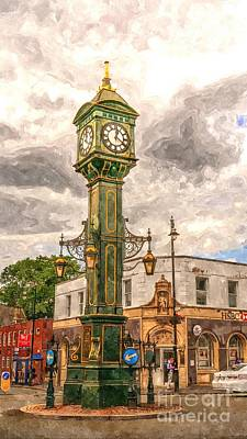 Birmingham Clock Tower  Poster by Mickey At Rawshutterbug