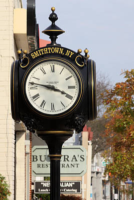 Clock Tower Smithtown New York Poster