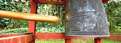 Close-up Of A Bell In Buddhist Temple Poster by Panoramic Images