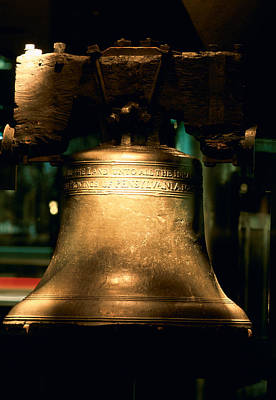 Close-up Of A Bell, Liberty Bell Poster by Panoramic Images