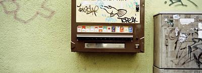 Close-up Of A Cigarette Vending Poster