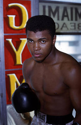 Close Up Of Muhammad Ali Poster by Retro Images Archive