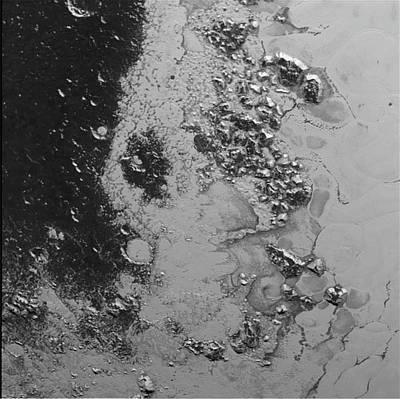 Close-up Of Pluto Poster