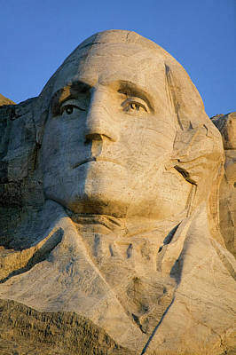 Close-up Of President George Washington Poster