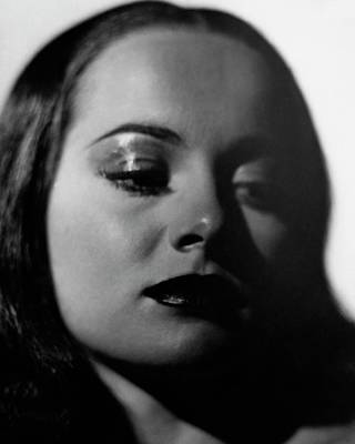 Close-up Portrait Of Olivia De Havilland Poster