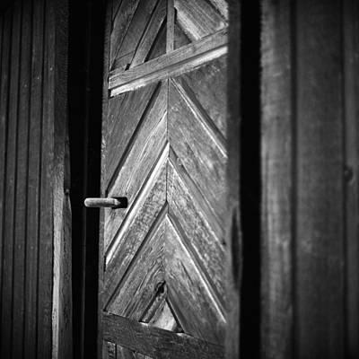 Closed Doors Poster by Aaron Aldrich