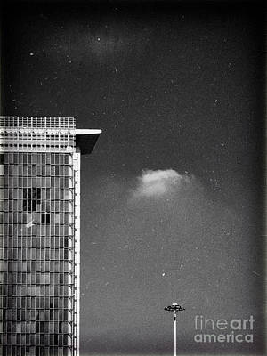 Poster featuring the photograph Cloud Lamp Building by Silvia Ganora