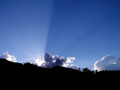 Poster featuring the photograph Cloud Rays by Craig T Burgwardt