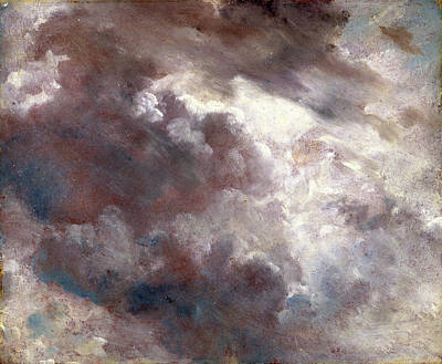 Cloud Study Dark Cloud Study, John Constable Poster