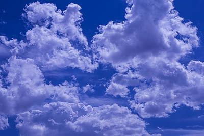 Cloud Watching Poster