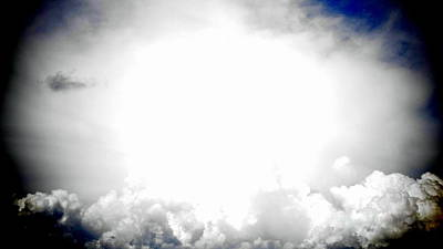 Cloudburst Sky Celestial Cloud Art Xl Resolution Poster