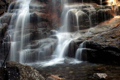 Cloudland Falls Poster by Heather Applegate
