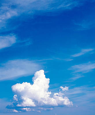 Clouds In Sky Poster