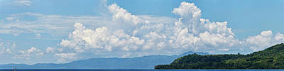 Clouds In The Sky, Papua New Guinea Poster by Panoramic Images