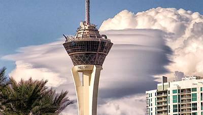 Clouds Make Vegas Poster