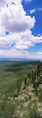 Clouds Over A Landscape, Tucson Poster