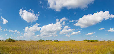 Clouds Over Everglades National Park Poster by Panoramic Images