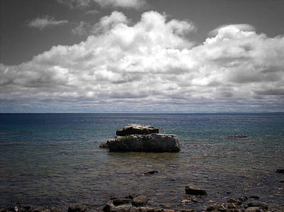 Clouds Over Georgian Bay - F2g Poster