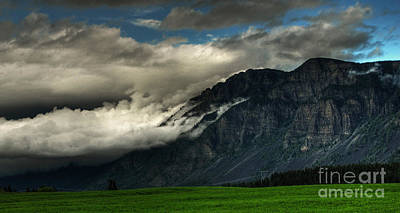 Poster featuring the photograph Clouds Over Goat Mountain by Sam Rosen