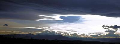 Clouds Vs. Sun Poster by Stefan Batog