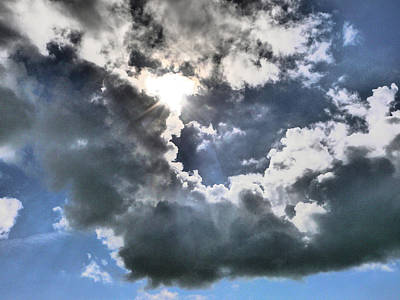 Clouds Poster by Winifred Butler