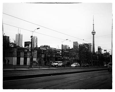 Cn Tower From Spadina Avenue Poster