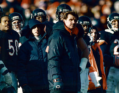 Coach Mike Ditka Poster by Retro Images Archive