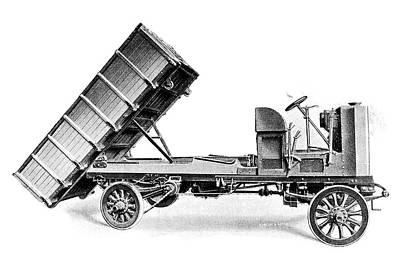 Coal Dumper Truck Poster