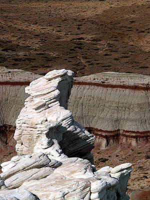 Poster featuring the photograph Coal Mine Mesa 14 by Jeff Brunton