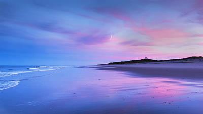 Coast Guard Beach Sunset Poster by Bill Wakeley